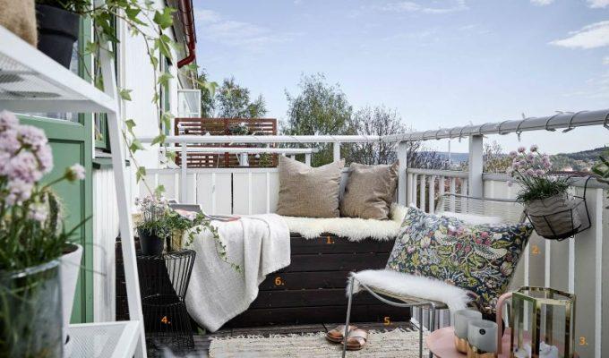 Inspiratie voor een knus balkon!